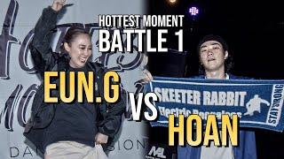 Eun-G vs Hoan – Hottest Moment vol.1 Popping Battle