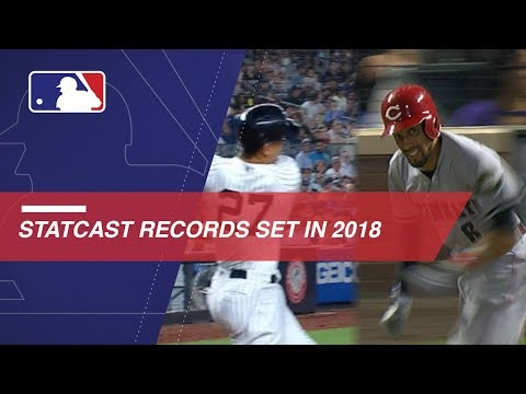 Video: Record-breaking Statcast moments from the 2018 season