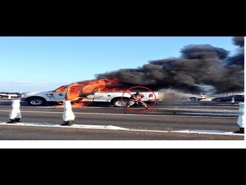 CAR ON FIRE!!!