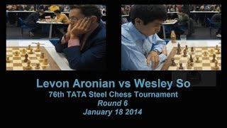 GM Wesley So ~ GM Levon Aronian