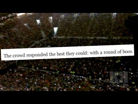 Boston Crowd Boos HipHollywoodcom