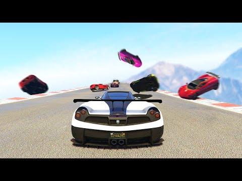 СУМАСШЕДШИЕ ГОНКИ С ЛОВУШКАМИ! ГОНКИ НА МАШИНАХ В GTA 5 ONLINE (видео)