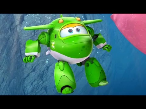 Супер Крылья: Джетт и его друзья - 17 серия - Мультик про самолеты трансформеры на русском (видео)