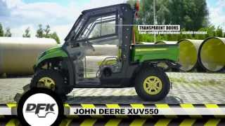 2. JOHN DEERE GATOR XUV 550 MODEL UTV WITH THE NEW CAB