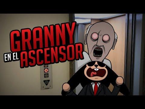 ROBLOX: GRANNY EN EL ASCENSOR  The Scary Elevator (Día del PATROCINADOR)
