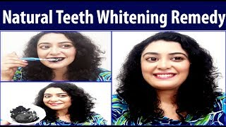 In this video I am sharing 100% effective remedy for teeth whitening. This remedy is natural and safe. It will remove all the stains from your teeth and will make your yellow and pale teeth white like pearls. Main ingredient of this teeth whitening remedy is activated charcoal. Activated charcoal powder cleans the teeth and makes the gums strong.Order activated charcoal Powder Here-https://goo.gl/QwjdJThttps://goo.gl/EjvcuShttps://goo.gl/SqkQbiSecond ingredient of this remedy is salt. Salt works as a natural scrub for your teeth. Third ingredient of this natural teeth whitening remedy is mustard oil. Mustard oil tightens gums and protects the enamel of teeth.How to prepare this teeth whitening remedy- Mix all the ingredients as shown in the video and brush your teeth with the mixture. Use this  remedy 2-3 times a week and your will get sparkling white teeth naturally. दांतो को मोती जैसा सफ़ेद बनाने का घरेलु उपायhttps://youtu.be/yyhKnZRj9qYदाँत हैं पीले तो ज़रूर करें ये उपाय,दाँतों को मोतियों की तरह चमकदार बनाएँ-https://youtu.be/-Ig-kYlYMusNatural Home remedies to get Shiny White Teeth-https://youtu.be/YYIbOh0kgcM