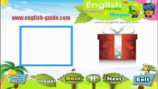 تعليم الاطفال الانجليزية - الاشكال - Shapes