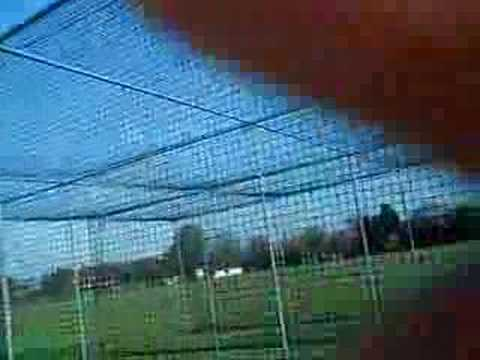 Funny cricket nets session