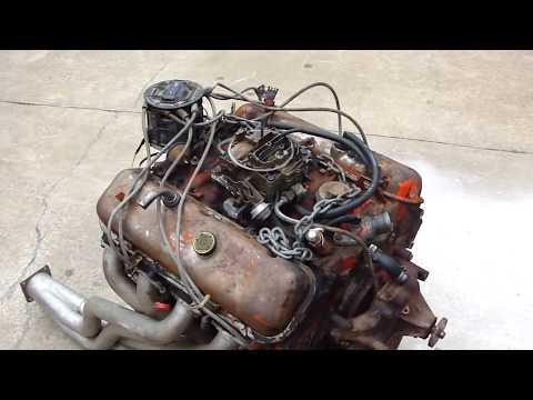 CHEVY 454 ENGINE START UP ON GROUND * HOT RATROD ENGINE  * TEST RUN * REDNECK ENGINEERING (видео)