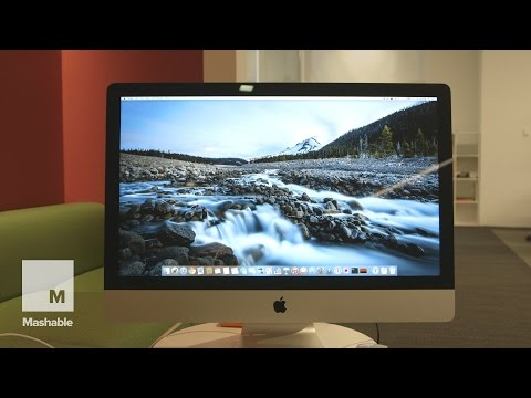 Display - There's a lot to like about the new iMac. It's got an almost impossibly-thin display and is the fasted iMac Apple has ever introduced. But really, the real story with the iMac with Retina 5K...
