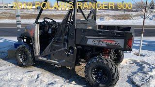 4. 2019 POLARIS RANGER 900