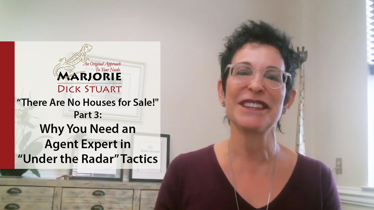 "What's Working Now! -  Why You Need an Agent Expert in ""Under the Radar"" Tactics"