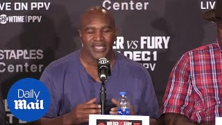 Video Deontay Wilder v Tyson Fury: Retired heavyweights discuss the fight MP3, 3GP, MP4, WEBM, AVI, FLV Desember 2018