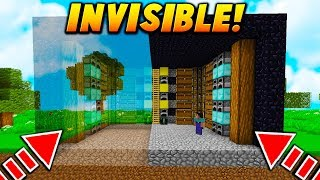 Minecraft TROLLING (INVISIBLE) ▻ MINECRAFT Video : INVISIBLE DISAPPEARING HOUSE TROLL! - Minecraft TROLLING ...