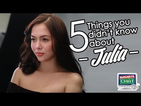 5 Things You Must Know About Julia Montes