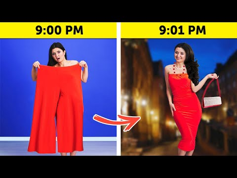 22 BRILLIANT CLOTHES HACKS || Cool DIY Upgrade Ideas by 5-Minute Crafts