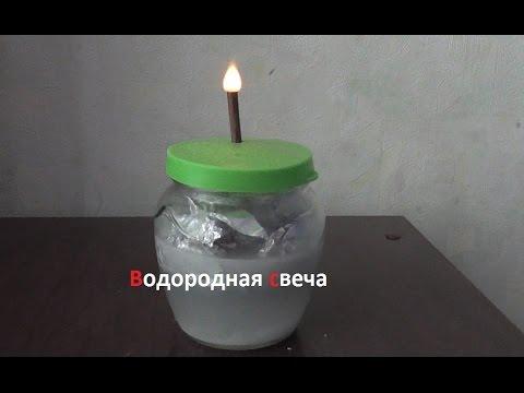 Как из подручных средств сделать свечу