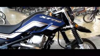 1. 2017 Yamaha XT250 Walk around