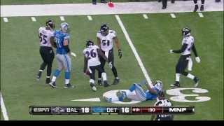 Tucker Kicks Ravens Past Lions - YouTube