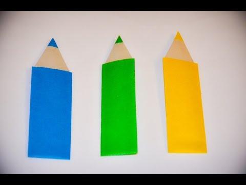 Закладки для книги карандаш