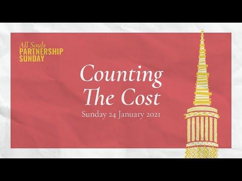 "Partnership Sunday Service: ""Counting The Cost"" (Sunday 24 January 2021)"