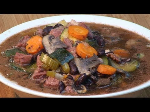 Steak and Beer Soup recipe by the BBQ Pit Boys