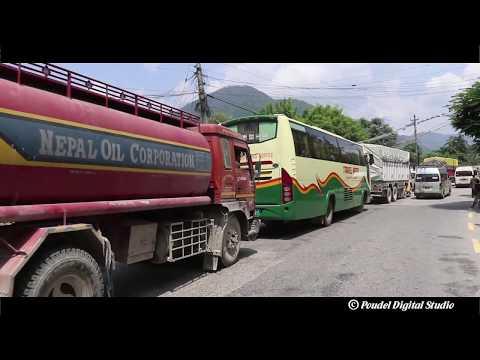 (Beautiful Roadways Pokhara to Kathmandu Nepal पोखरा देखि काठमाडौंको यात्रा - Duration: 6 minutes, 7 seconds.)