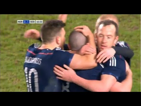 Scotland in smash and grab win against Norway