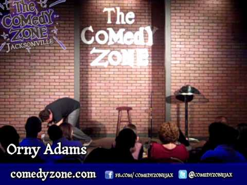 Orny Adams at the Comedy Zone JAX