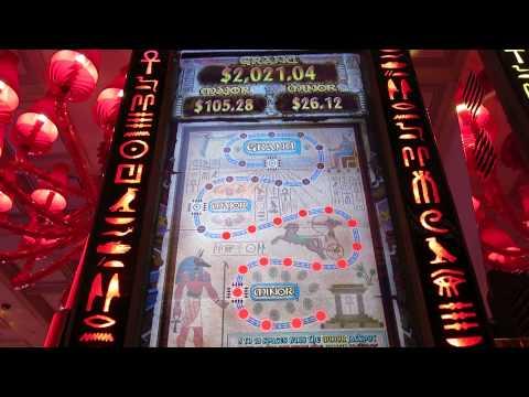 THE MUMMY Max Bet Slot machine Bonus. Big Win, Encore, Las Vegas