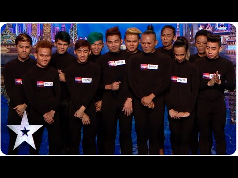 El Gamma Penumbra Earn Golden Buzzer From Anggun | Asia's Got Talent Episode 4
