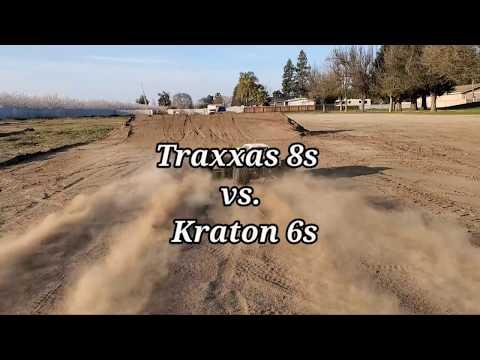 Traxxas 8s vs. Krayton 6s