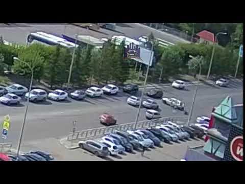 Взлетная - Весны - Аэровокзальная 30.08.2018 ЧП Красноярск - DomaVideo.Ru
