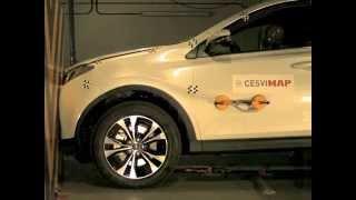 Crash Test Delantero Toyota Rav 4