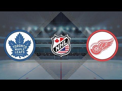 Обзор матча Торонто - Детройт / MAPLE LEAFS VS RED WINGS JANUARY 25, 2017 HIGHLIGHTS