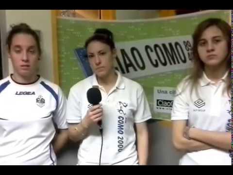 Sport Magazine diretta, ecco le ragazze della Como 2000