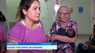 Com 19 casos de sarampo, procura por vacina dispara em Sorocaba