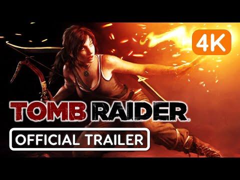 🕹 Tomb Raider ★ Official Trailer ★ 4K 60 FPS ★ GTX 1650 ★ Ultra Settings 🔊
