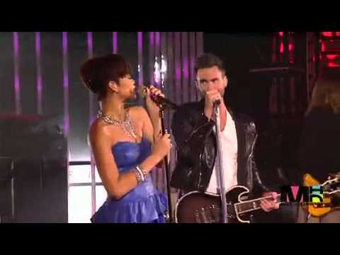 Maroon 5 Ft. Rihanna - If I Never See Your Face Again [MTV 2008](HD)