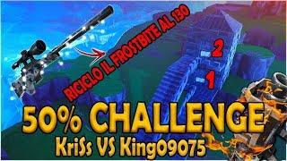 Video 50% CHALLENGE - RICICLO IL FROSTBITE AL 130!!! - KriSs VS King09075 - Fortnite Salva il Mondo MP3, 3GP, MP4, WEBM, AVI, FLV Desember 2018