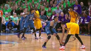 Candace Parker and Maya Moore Duel in Finals Classic by WNBA