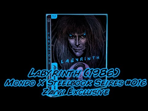 Labyrinth (1986) | Mondo X Steelbook Series #016 | Zavvi Exclusive Blu-ray | Unboxing