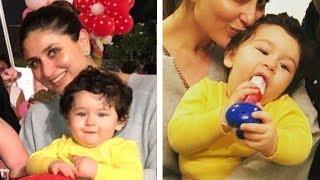 Video Taimur Ali Khan's CUTE Moments With Kareena Kapoor At Rani Mukherjee's Daughter's Birthday Party MP3, 3GP, MP4, WEBM, AVI, FLV Maret 2018