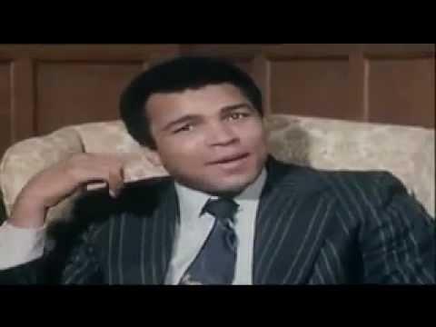 Jimmy Savile & Muhammad Ali.