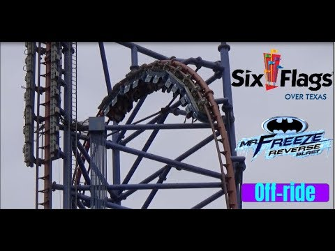Video Mr. Freeze: Reverse Blast HD Off-ride 60FPS at Six Flags Over Texas download in MP3, 3GP, MP4, WEBM, AVI, FLV January 2017