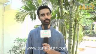 Veera at Rajathandhiram Movie Press Show