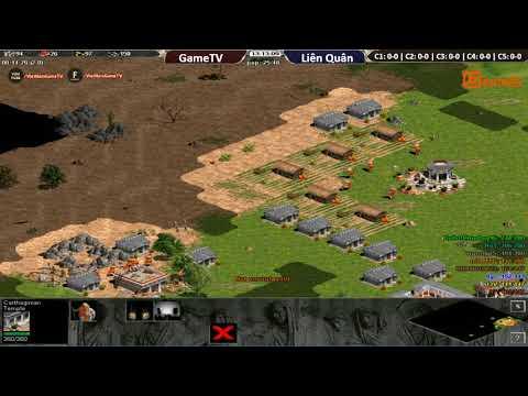 AOE | 4vs4 Random | GameTV vs Liên Quân | Ngày 08/11/2017.BLV: Gman