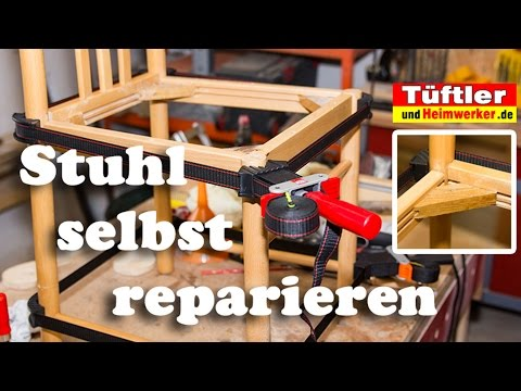 Wackligen Stuhl reparieren