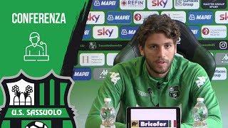 Sassuolo, conferenza stampa Manuel Locatelli in vista della gara contro il Napoli