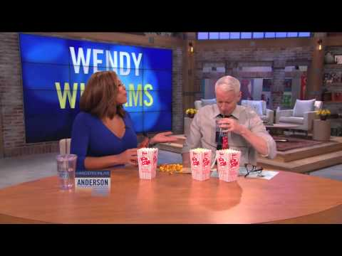 anderson - Wendy Williams introduces Anderson to hot sauce on popcorn. Subscribe to our channel:http://www.youtube.com/subscription_center?add_user=anderson http://www....